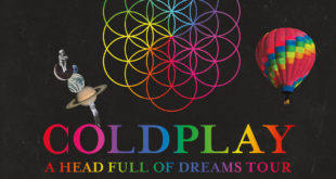 Coldplay European Tour 2017