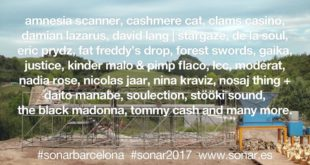 Sónar 2017 Barcelona