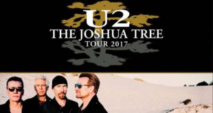 The Joshua Tree Tour 2017