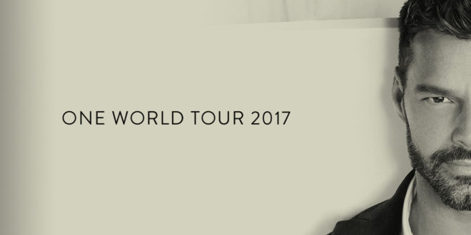 Ricky Martin España 2017 One World Tour